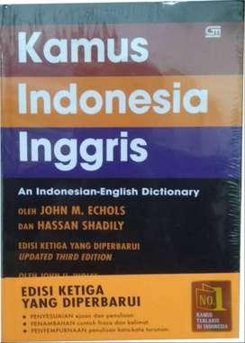 Kamus Indonesia - Inggris Hard Cover (asli bukan KW)