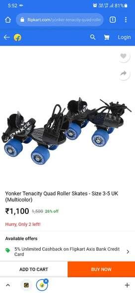 Yonker skates