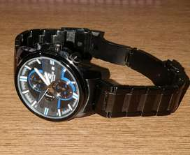 Casio Edifice Black Chronograph Watch