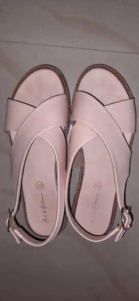 Mast&Harbour designer sandals. Size 6