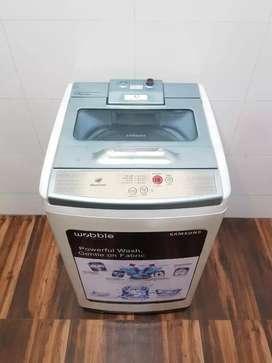 Samsung diamond drum 6.2kg top load fully automatic washing machine###