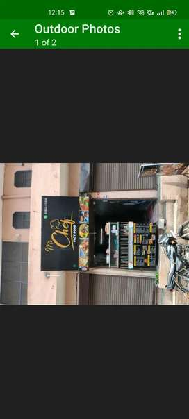 Fast food shop with sara saman and shop rent
