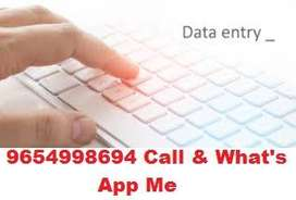 Simply English Typing Data Entry Work
