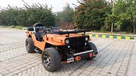 Harsh modified Jeeps