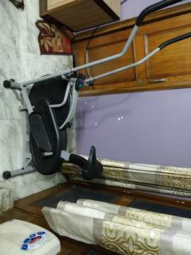 Cockatoo cross trainer + bicycle with monitor. New unused