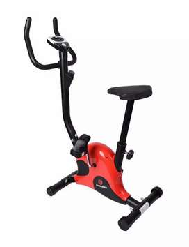 Fitness Exercise Bike Pedal Perfect Home Cycle Weight(Red. Black)