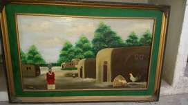 Canvas Oil Paintings in Model Town Lahore.