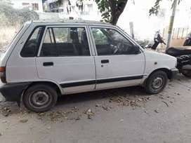 Maruti 800 AC with LPG, Insurance paid, R.C. renewed