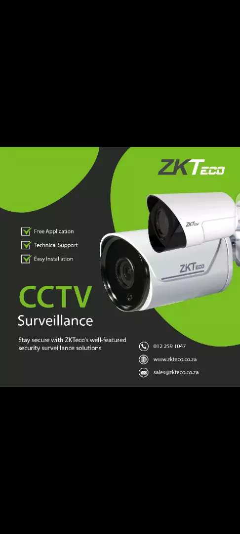 CCTV AHD Camera 2MP, Night Vision 0