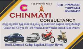 Any type of car bike scooty etc available . for more inf contact me