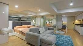 Apartemen studio furnished disewakan di apartemen warhol semarang
