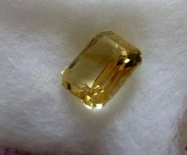 Natural Citrine 3,4 carat AAA+ High Quality Kode CT179