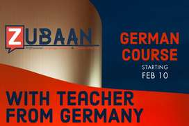 German A1 Course with teacher from Germany