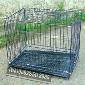(BARU) Kandang Kucing Ukuran 60 Lipat Kandang Kelinci Kandang Anjing