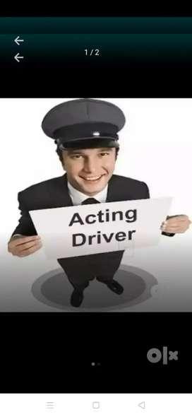 I'm sasi acting driver