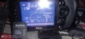 Nikon d90 with 18-105mm lence