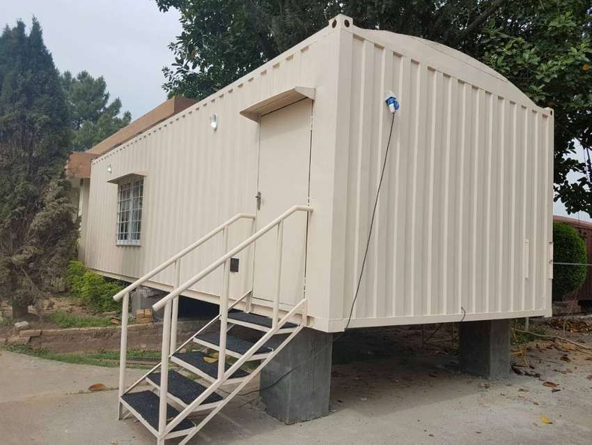 containers/porta cabins/shipping containers available in abotabad 0