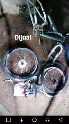 Jual kerangka sepeda