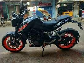 KTM DUKE 200 bike sarangarh m hai