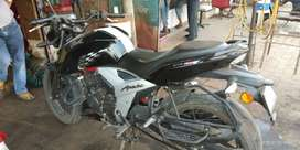 Tvs apache in very good condition...just 1 year old