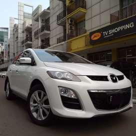 [Dp 7 jt] Mazda Cx7 GT 2010 Putih Sound Bose