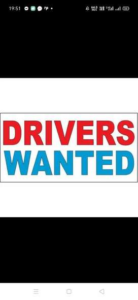 Part time and full time drive job avl any one interested msg me