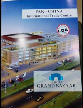 Lahore Grand Bazar Shops Avaliable