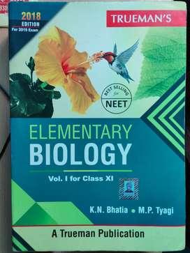 Truman's elementary biology class 11 vol.1