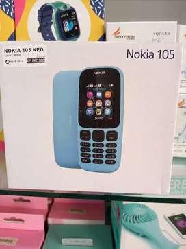 Handphone NOKIA 105 NEO (Rave cell Sako)