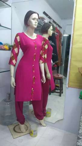Ladies dresses cutting and stitching master wanted