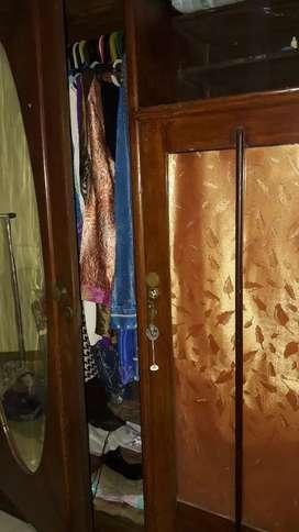 Lemari baju 2 pintu