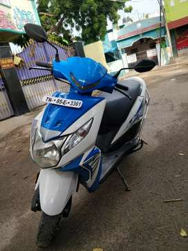 2017 HONDA DIO BS4 SINGLE OWNER VERY GOOD CONDITION SELF START WORKING