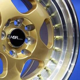 jual velg type BURN H1569 HSR Ring.15 Lebar.7-8,5 PCD.4X100-4X114,3 ET