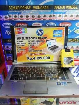 Laptop Hp 8470P Intel core i5 Banyak Bonusnya
