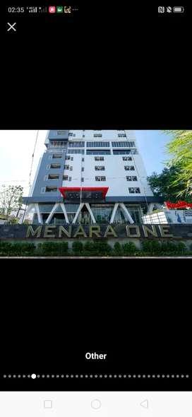 Disewakan Apartment Menara One Type Studio.