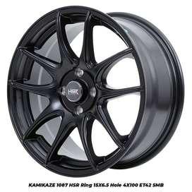 velg racing KAMIKAZE 1087 FC HSR R15X65 H4x100 ET42 SMB