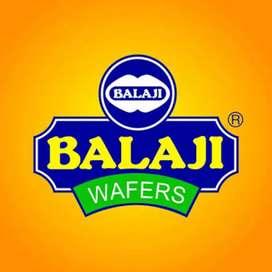 Salesman - order booking of Balaji wafers