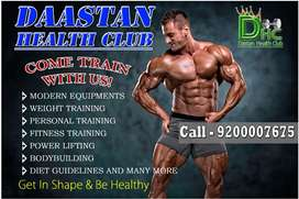 Need lady Gym trainer,