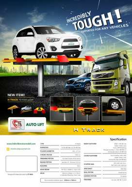 3 Unit Hidrolik Mobil Tipe H Merk Autolift