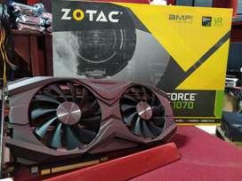 ZOTAC GeForce GTX 1070 8GB GDDR5 256bit AMP Edition