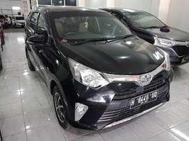 TDP 10 JT. Toyota Calya 1.2 G Manual 2018. Hitam. Plat H. Pajk Panjang