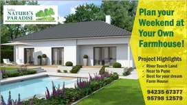 Plan your weeekend at ur own farmhouse