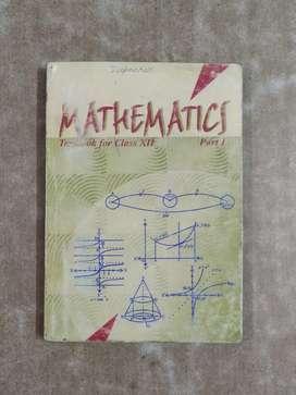Class XII NCERT Mathematics Part 1