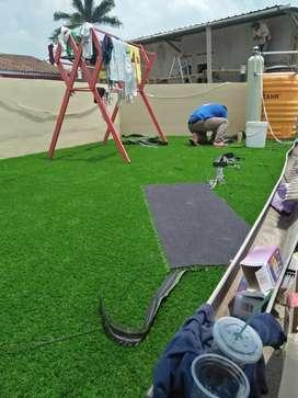 Gudangnya Rumput Sintetis, Plus Bisa Pengiriman dan Pemasangan .