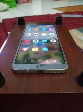LG G6 4/64 Ice Platinum 90% mulus