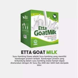 Etta goat milk ( susu kambing)
