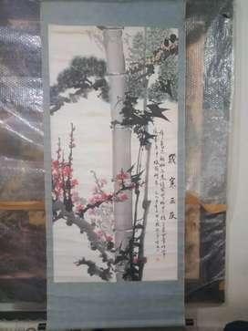 Lukisan Kertas Cina