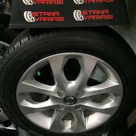 Velg ban 15 Asli Nissan March New
