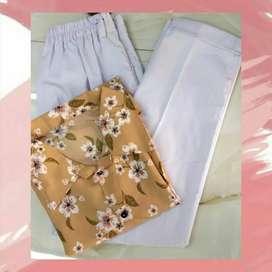 Set Monalisa-Baggy pants