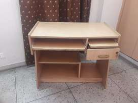 Computer cum Study Table (Engineered Wood)